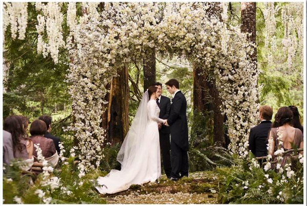 The Inside Story On Wedding Dress From Breaking Dawn