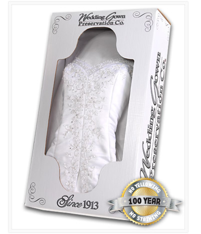 Wedding Grown Preservation Wedding Dress Preservation Ships Free