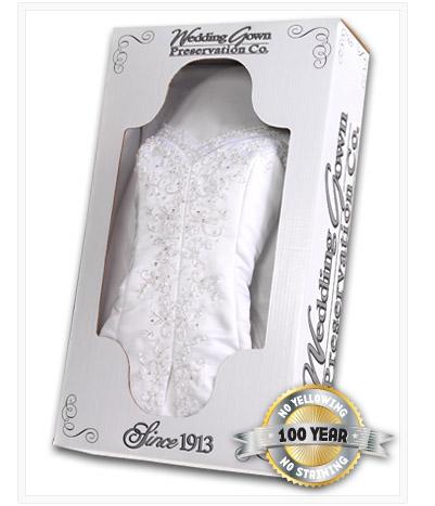 Wedding dress heirlooming houston mini bridal for Wedding dress preservation houston